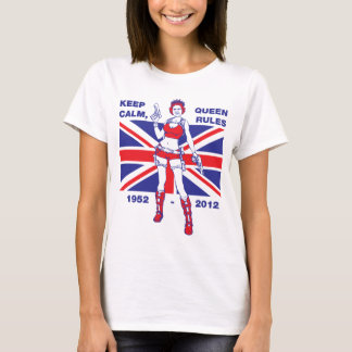 Queen Elizabeth Diamond Jubilee women's T-shirt