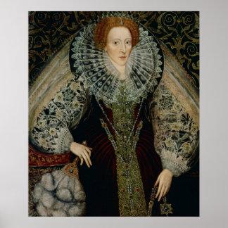 Queen Elizabeth I, c.1585-90 Posters