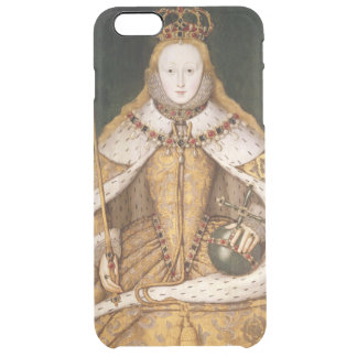 Queen Elizabeth I in Coronation Robes Clear iPhone 6 Plus Case
