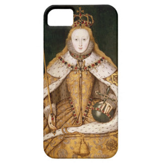 Queen Elizabeth I in Coronation Robes iPhone 5 Cover