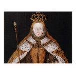 Queen Elizabeth I Postcard