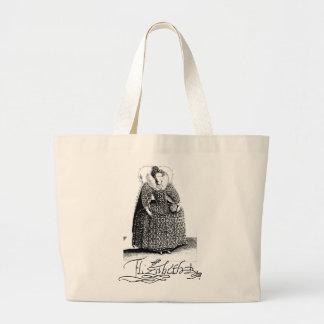 Queen Elizabeth I Tudor Totebag Jumbo Tote Bag