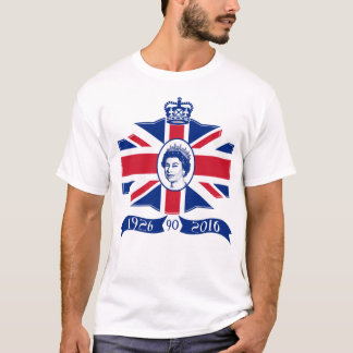 Queen Elizabeth II 90th Birthday 2016 T-Shirt