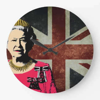 Queen Elizabeth II clock