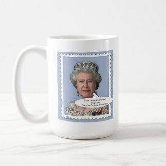 Queen Elizabeth II Comedy Mug