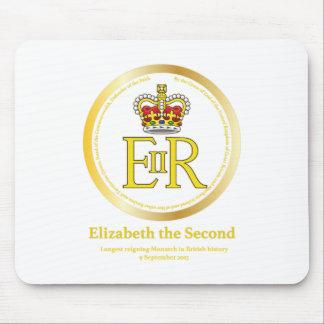 Queen Elizabeth II Reign Mouse Pad