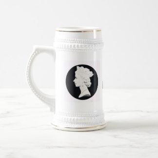 Queen Elizabeth II, vivat Regina Beer Steins