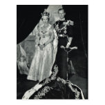 Queen Elizabeth II, with Prince Philip Post Card