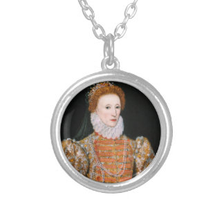 Queen Elizabeth - Necklance Silver Plated Necklace