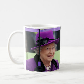 Queen Elizabeth of England Basic White Mug