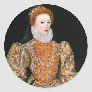 Queen Elizabeth Stickers