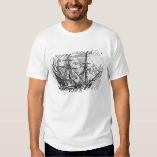 Queen Elizabeth's Galleon T-shirts