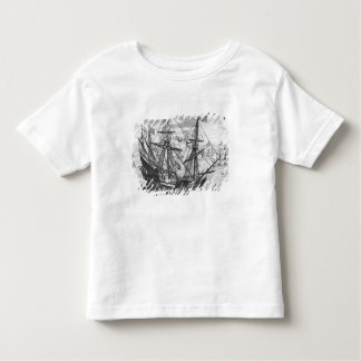 Queen Elizabeth's Galleon Toddler T-Shirt