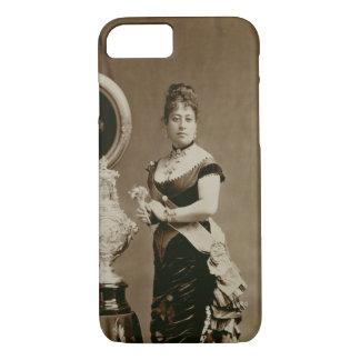 Queen Emma (1836-85) (sepia photograph) iPhone 7 Case