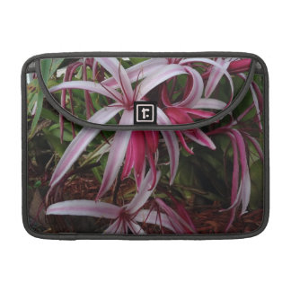 Queen Emma's Purple Crinum Lily Sleeve For MacBook Pro