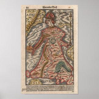 Queen Europe Poster