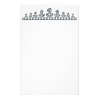 Queen-Fabiola's-Tiara Custom Stationery
