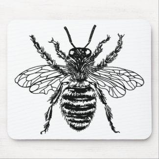 Queen Fat Bee Mousepads