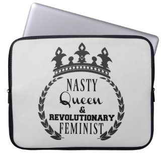 Queen Feminist Laptop Sleeve