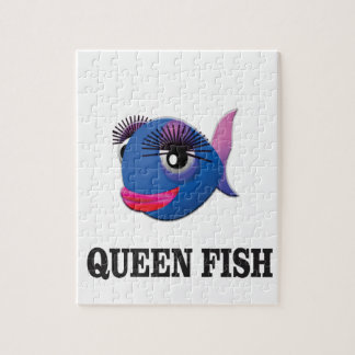 queen fish blue yeah jigsaw puzzle