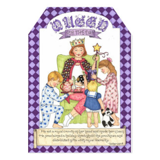 Queen for the Day Card and Gift Tag