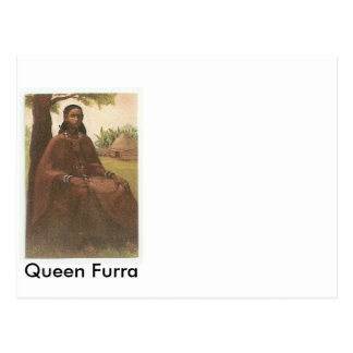 Queen Furra ( picture from www.mmmusa.org ) Postcard