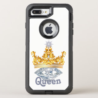 Queen Gold Crown & Diamonds, Otterbox Case