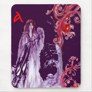 QUEEN GUINEVERE MONOGRAM MOUSE PADS