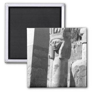 Queen Hatshepsut's Temple Egypt Square Magnet