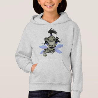 QUEEN HORSHA ALIEN CARTOON Hoodie Girl ASH