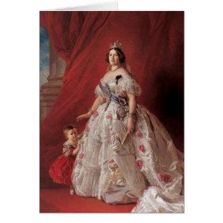 Queen Isabella II of Spain Card