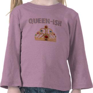 Queen-ish Pink Tee Shirts