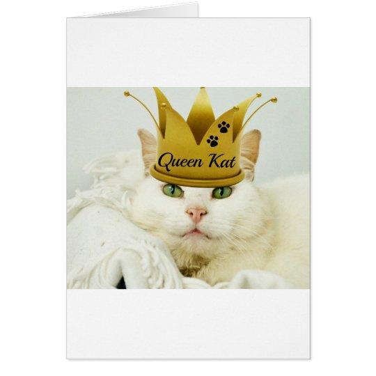 Queen Kat Card
