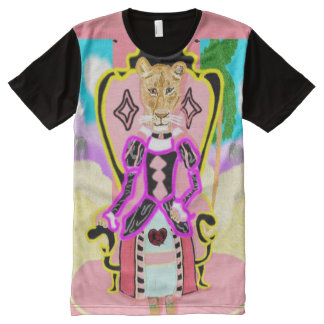 Queen Lioness Sheila All-Over Print T-Shirt