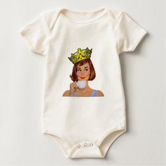 queen-logo-large baby bodysuit