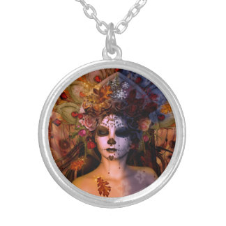 Queen Mab Silver Plated Necklace