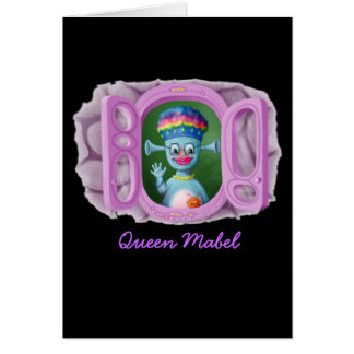 Queen Mabel Cedric Greeting Card