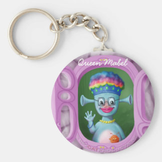 Queen Mabel & Cedric Key Ring