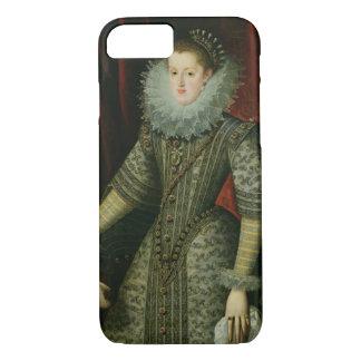 Queen Margarita of Austria, 1609 (oil on canvas) iPhone 7 Case