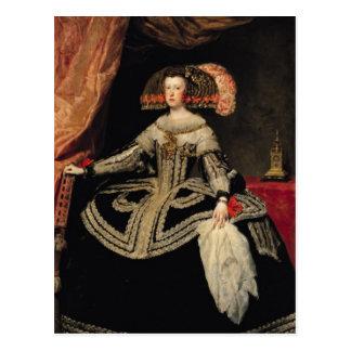 Queen Maria Anna  of Austria, 1652 Postcard