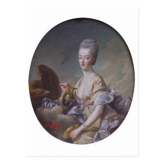 Queen Marie Antoinette by François Hubert Drouais Postcard