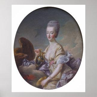 Queen Marie Antoinette by François Hubert Drouais Poster