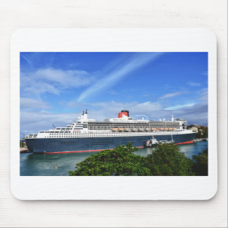 Queen Mary 2 Cruise Ship Mouse Pad
