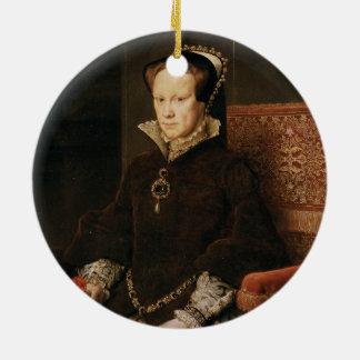 Queen Mary I of England Maria Tudor by Antonis Mor Ceramic Ornament
