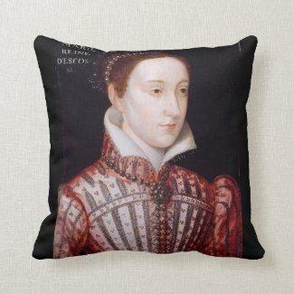 Queen Mary Stuart Pillow Cushion