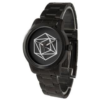 Queen (n) / Custom Oversized Black Bracelet Watch
