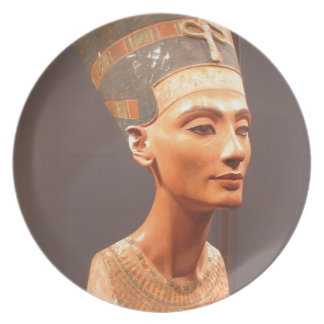 Queen Nefertiti Plate