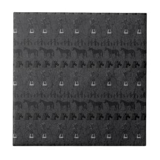Queen Nefertiti Unicorn Tile
