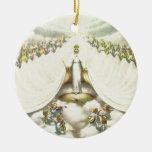 Queen of Angels Ornaments