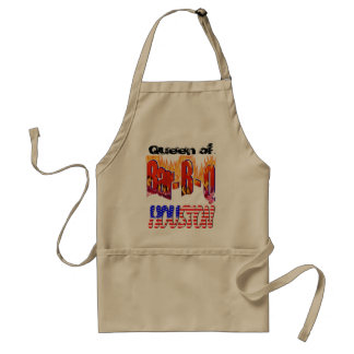 Queen of Bar-B-Q in Huston Standard Apron
